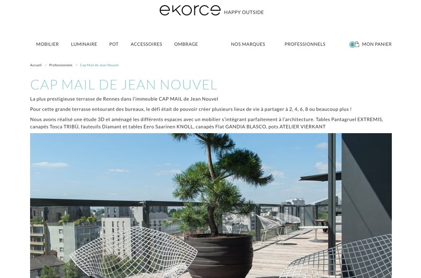 EKORCE / E-SHOP